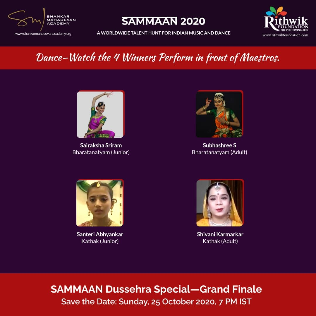 Sammaan Dance Winners